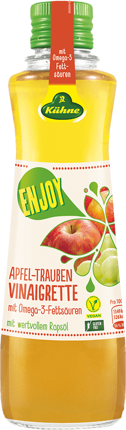 ENJOY Apfel-Trauben Vinaigrette