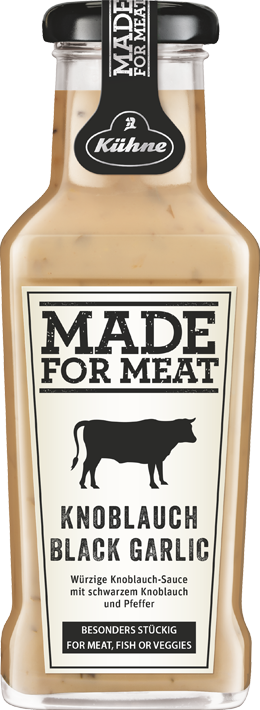 MADE FOR MEAT Knoblauch Black Garlic