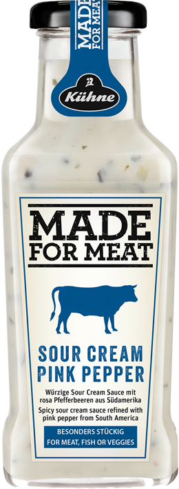 MADE FOR MEAT Sour Cream Pink Pepper