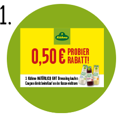 Natürlich GUT Dressings Couponing